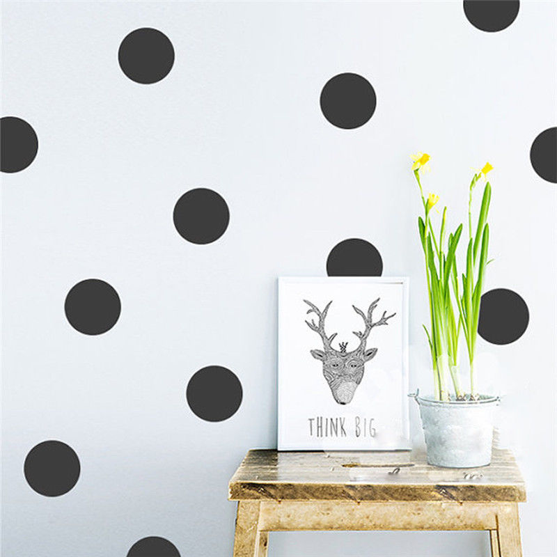 Polka Dot Wall Decals Jumbo (6 Colors)