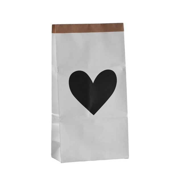 Heart Paper Storage Bag