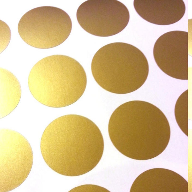 Polka Dot Wall Decals Medium (6 Colors)