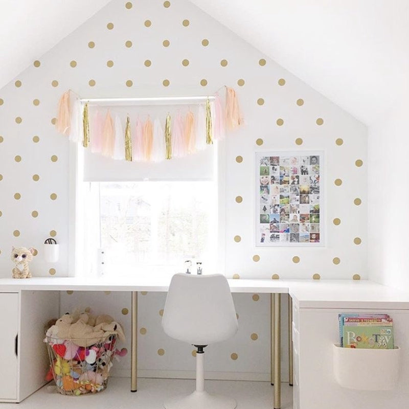 Polka Dot Wall Decals Large  (6 Colors)