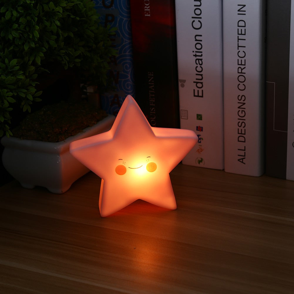 Glowing Star Night Light (5 Colors)