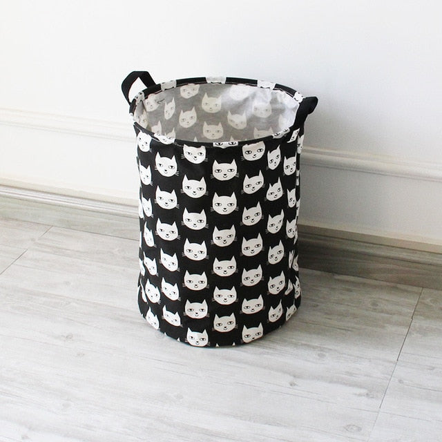 Minimalist Cat Storage Basket (2 Colors)