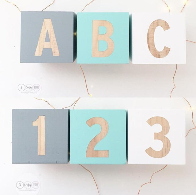 My 1st ABCs Wooden Blocks