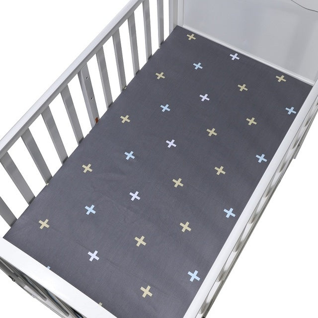 Scandi+ Fitted Crib & Toddler Bed Sheet