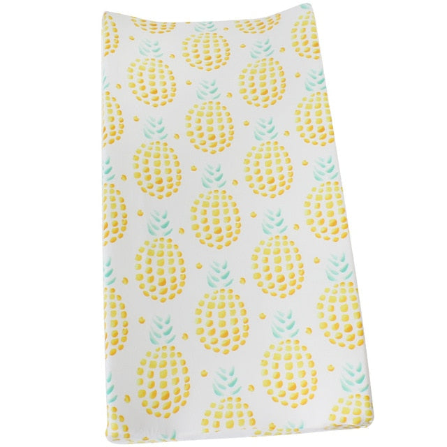 """Ananas"" Changing Pad Cover"