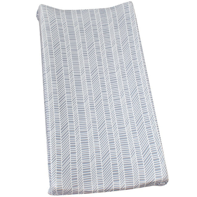 Modern Stripes Changing Pad Cover