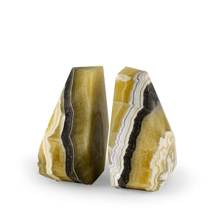 Sonora Onyx Bookends Set Of 2