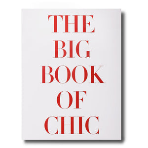 The Big Book of Chic 300 pages 150 illustrations English language Released in October 2012 W 9.92 x L 13.07 x D 1.65 in Hardcover with Jacket ISBN: 9781614280613 6.0 lb