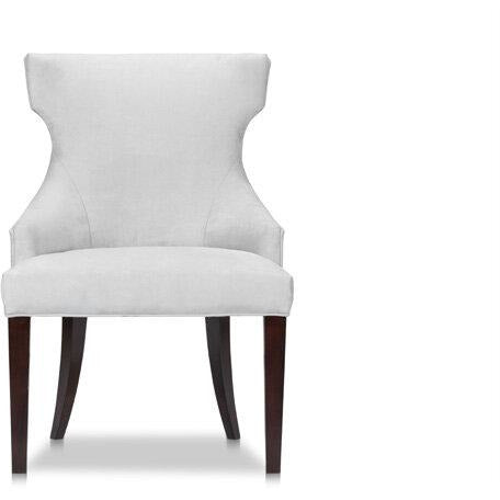 The Lexington Avenue chair is perfect as a dining chair, desk chair, or as an occasional piece in a living area or bedroom. The elegant klismos arm has a striking aesthetic presence while providing support for the back and arms.