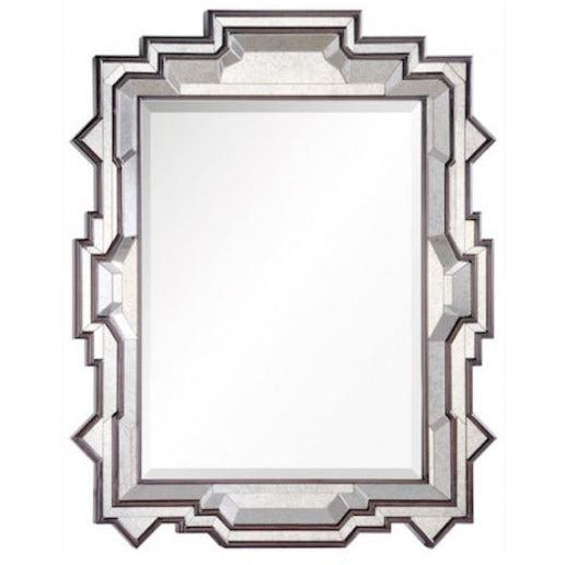Dutch Brown and Antiqued Mirror - Duvall Atelier