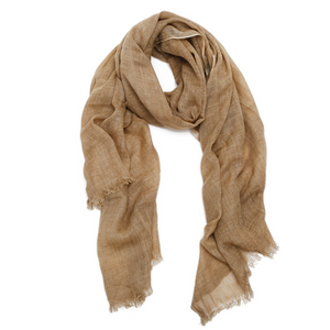 Vineyard Scarf - Camel