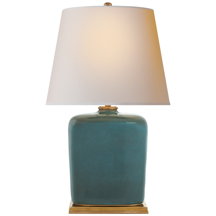 Mimi Table Lamp in Oslo Blue