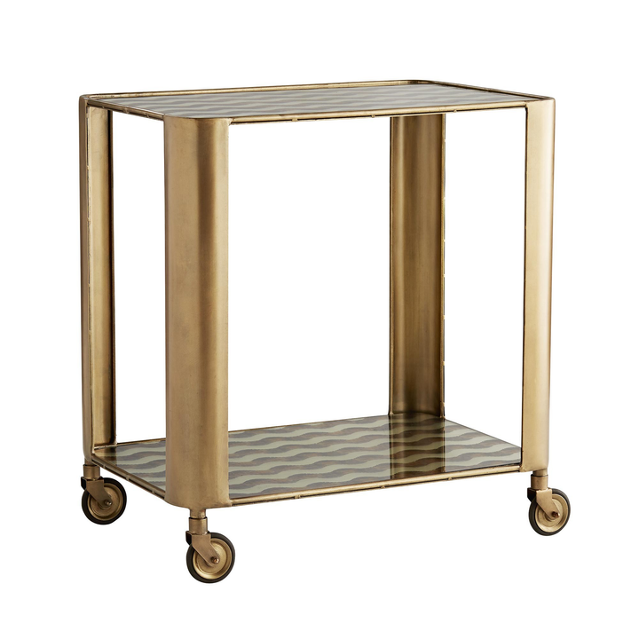 Tinsley Bar Cart - Duvall Atelier