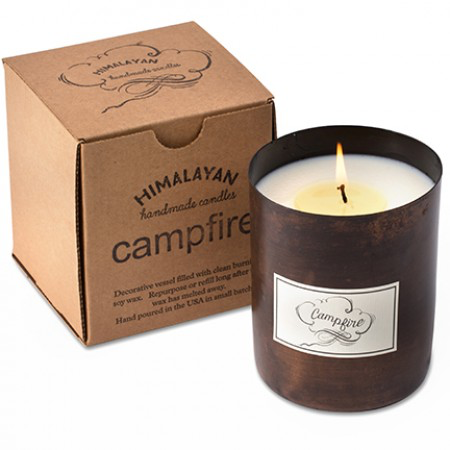 Campfire Dharamsala Blackened Gold Patina Candle