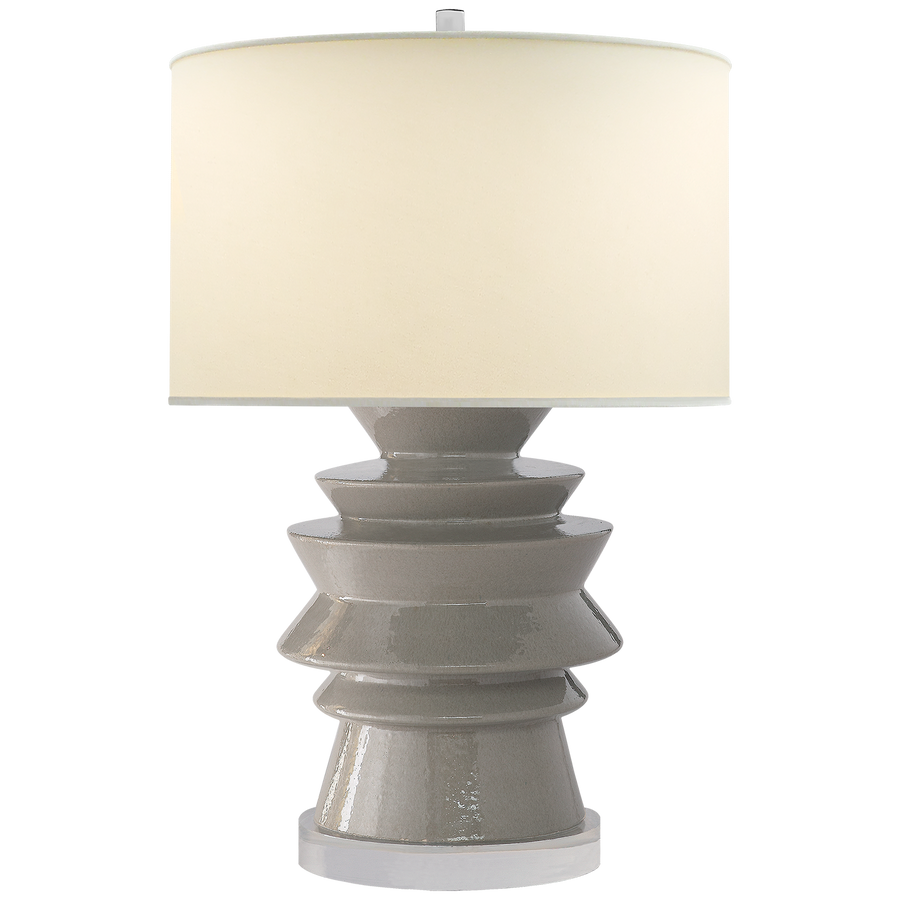Visual Comfort Stacked Disk Table Lamp/ Duvall Atelier