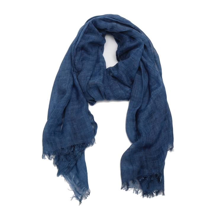 Vineyard Scarf - Indigo