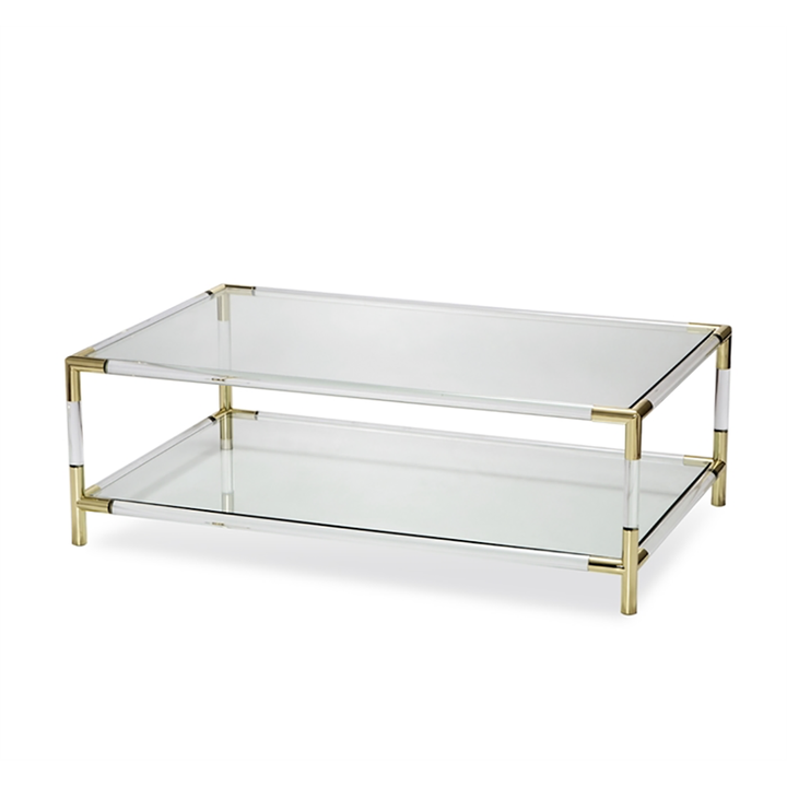 Julien Rectangular Cocktail Table - Duvall Atelier