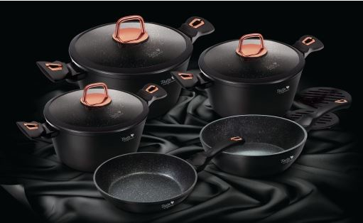 Black Rose 10 Piece Set - Taste The Difference