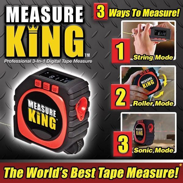 Measure King 3-in-1 Digital Tape