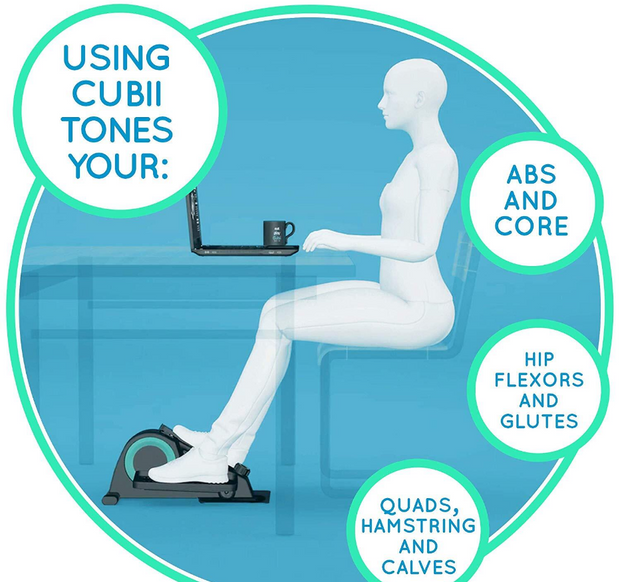 Powerfit Cubii Pro + Free Posture Doctor