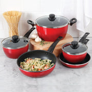 Taste the Difference 8 Piece Cookware Set- Non Stick