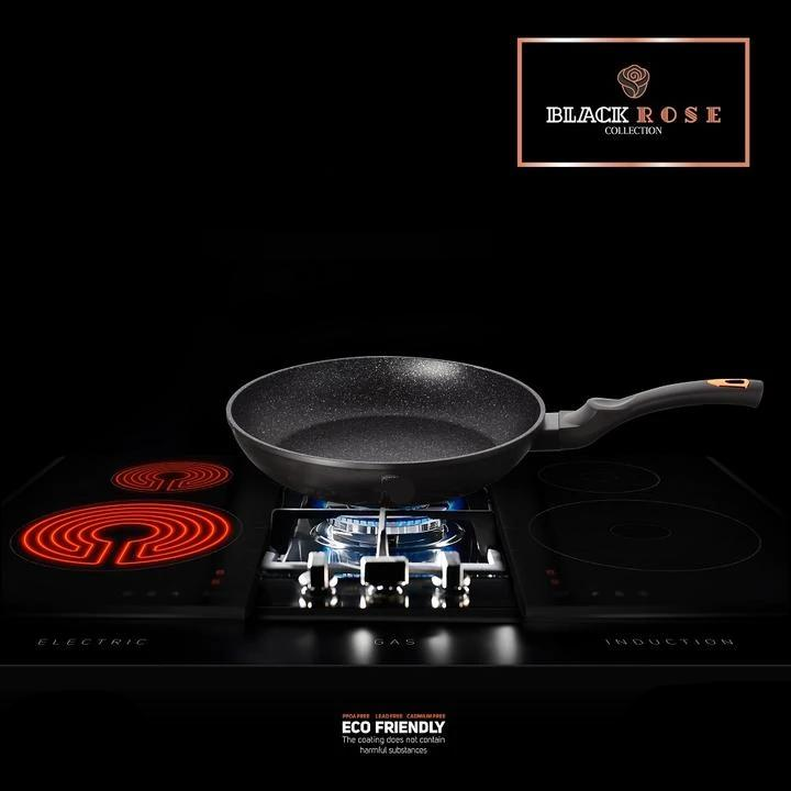 Black Rose Frying Pan - Taste The Difference