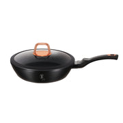 Black Rose Deep Frypan with Lid - Taste The Difference