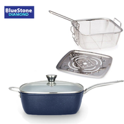 Bluestone® with Diamond 24cm Square Pan Set