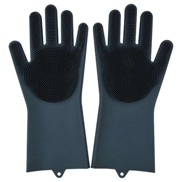 Magic Silicone Scrubbing Gloves - FlareTrends