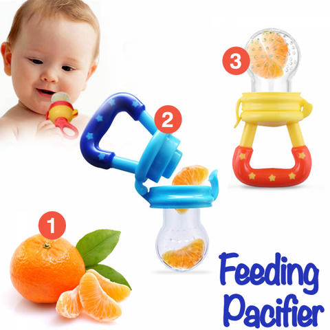 Image of All-In-One Baby Food Pacifier - FlareTrends