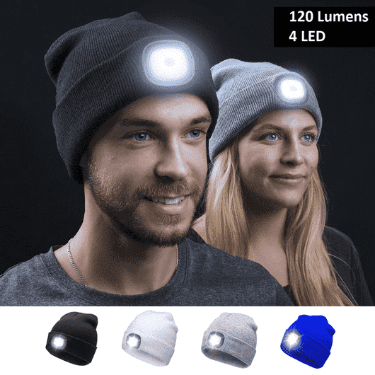 Super LED Headlight Beanie - FlareTrends
