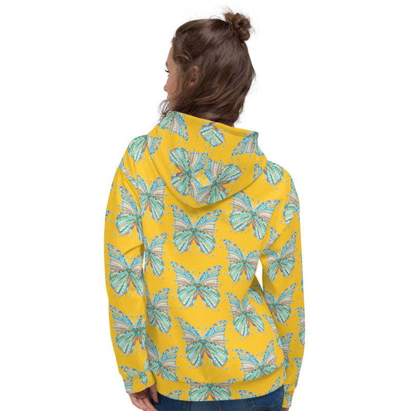 Butterfly Patterns All-Over Print Unisex Hoodie