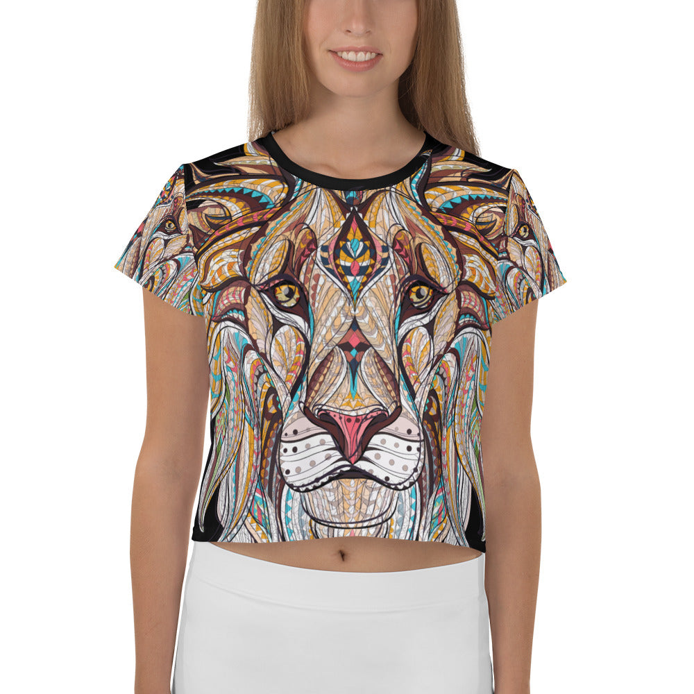 Butterfly Ballet Sublimation Cut /& Sew Crop Top