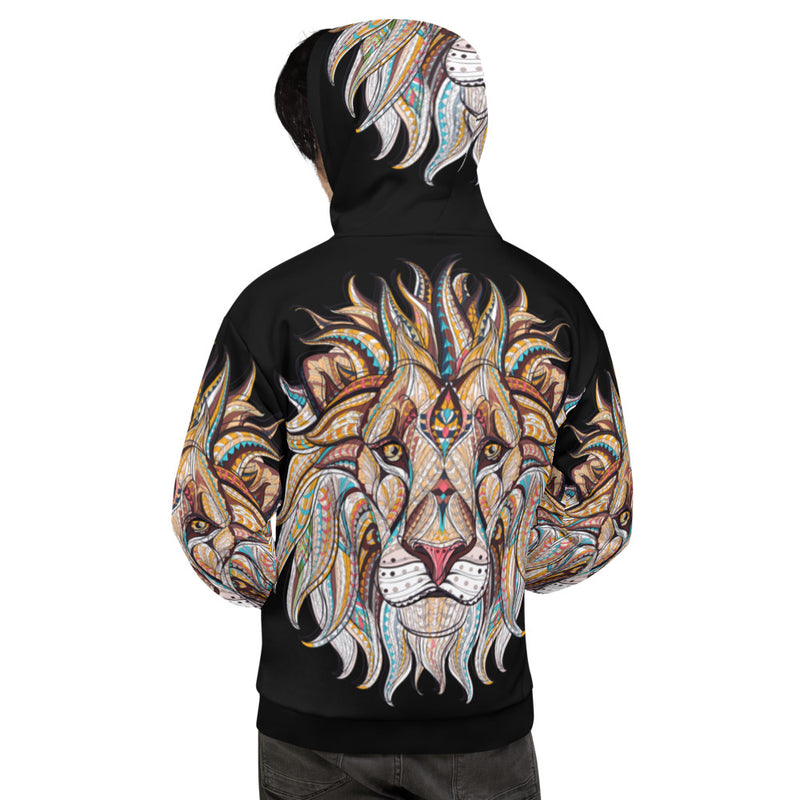 King of the Jungle All-Over Print Unisex Hoodie