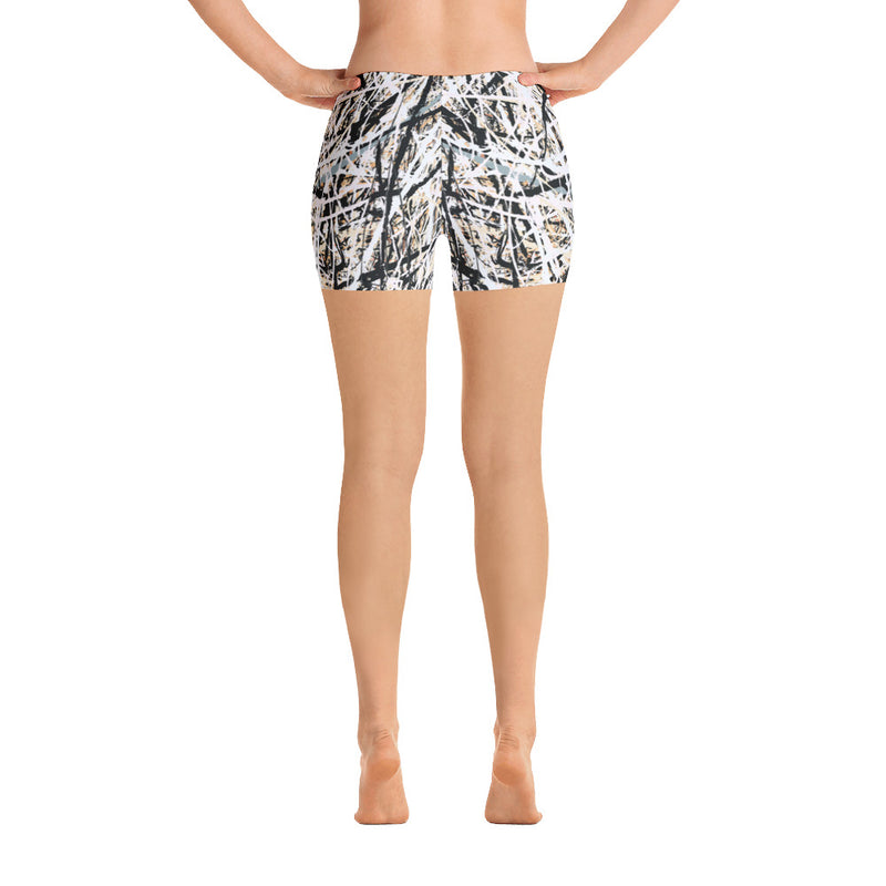 Abstract shorts front view from Teexpression