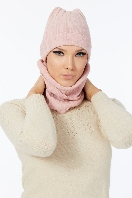 Possum Snood in Veneta Pink