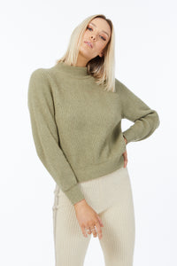 Possum Silk Merino Zoe Jumper in Birch