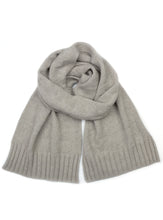 Cashmere Possum Silk Houndstooth Scarf  Dove