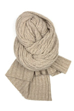 Possum Silk Lace Pashmina in Beige