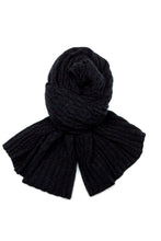 Possum Silk Lace Pashmina in Black