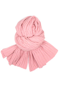 Possum Silk Lace Pashmina in Pearl Pink