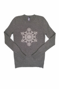 CASHMERE POSSUM SILK SNOWFLAKE JUMPER * SOLD OUT *