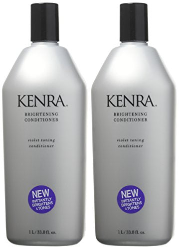 Kenra Brightening Shampoo and Conditioner Set, 33.8-Ounce
