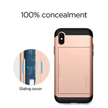 Spigen Slim Armor CS Designed for Apple iPhone Xs Case (2018) / Designed for Apple iPhone X Case (2017) - Blush Gold