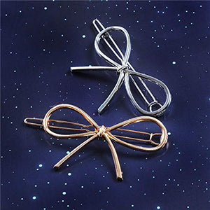 24 Pieces Minimalist Dainty Hair Clip for Women