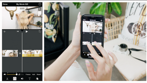 How To Film On iPhone and Edit With iMovie on Instagram For Hairstylists
