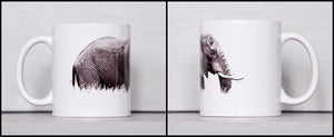 Coffee Mug BW10 African Elephant