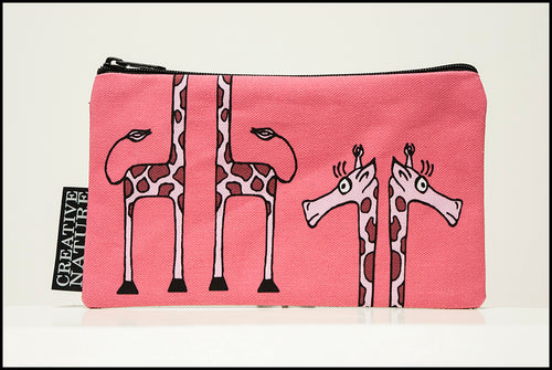 Accessory Bag Curious Creatures Giraffe