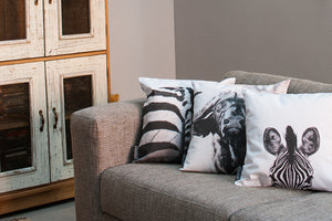 Cushion Cover SC BW 14 Elephant