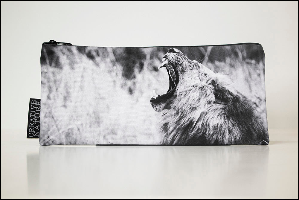 Long Pencil Bag BW03 Lion